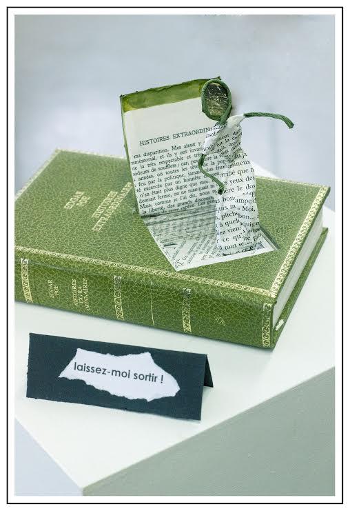 atelier artistique recyclage de livres us s cherbougetoi. Black Bedroom Furniture Sets. Home Design Ideas