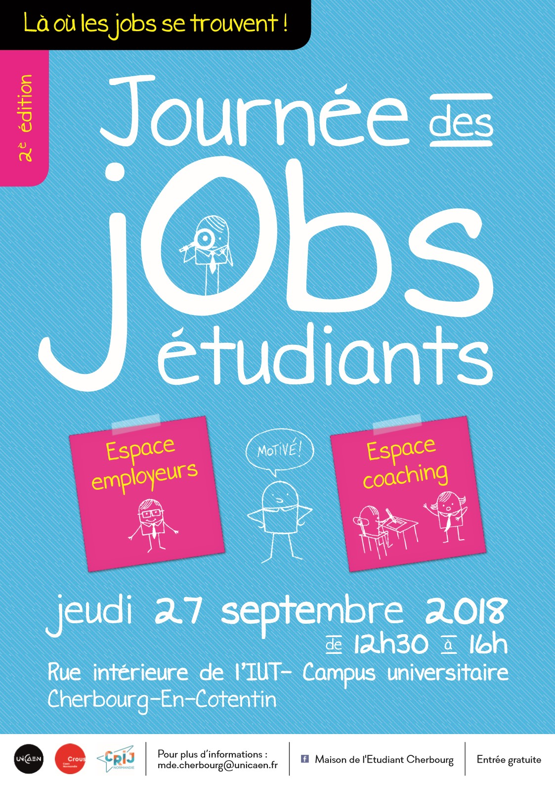 journ u00e9e jobs  u00e9tudiants  u2013 2e  u00e9dition  u2013 cherbougetoi  le blog
