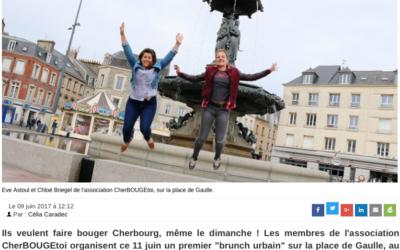 A Cherbourg, un brunch urbain sur la place de Gaulle dimanche !