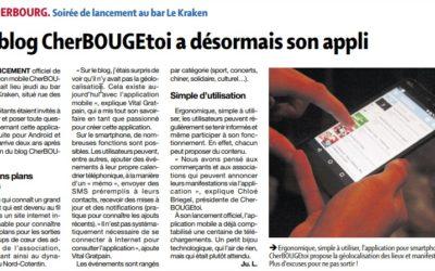 Le blog CherBOUGEtoi a désormais son appli
