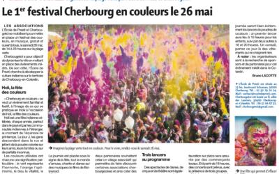 Le 1er festival Cherbourg en couleurs le 26 mai